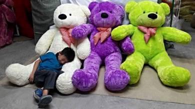 Teddy bear bessar saiz 1.6meter