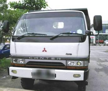 Mitsubishi FG638 4X4 13Ft Tipper Baru Daftar Baru