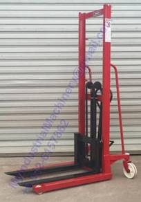 Hand Stacker Manual Straddle Lift Hydraulic Lifter