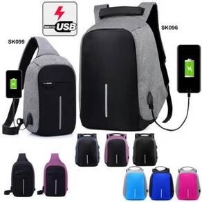 Backpack Anti Theft USB Charging