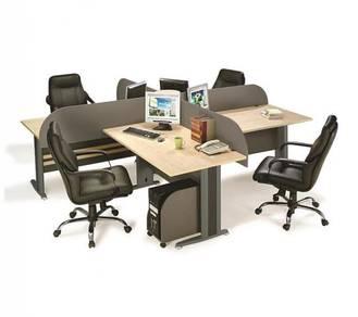 5ft table Dividers Panel Team Workstations OFMT158