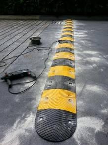 Rubber speed hump breaker 500 mm