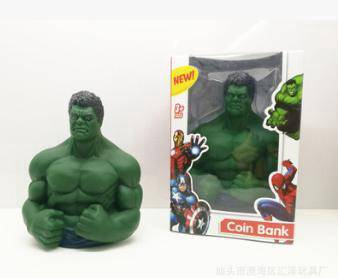The hulk maney cans