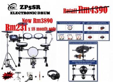 XM ZP5SR eDrum
