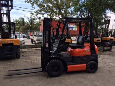 JAPAN Direct Imported TOYOTA 1.5 ton FORKLIFT