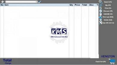 KMS POS System for Retail Shop