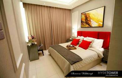 (Must View & Cheapest) Hyde Tower I-City Sek 7 1R1B Fully Furnished