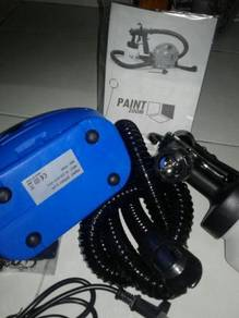 Paint zoom biru nozzle cooper dengan post