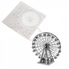 3D Nano Steel Laser Cut Puzzle - Ferris Wheel