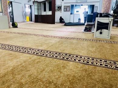 Kami Bekal/pasang karpet masjid office carpet t