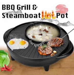 Bbq grill steamboat hotpot
