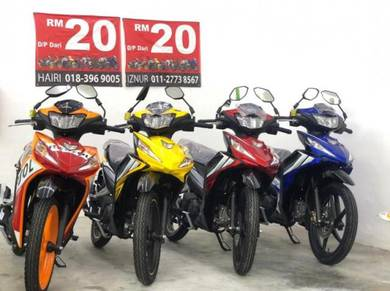 DASH125 DEP0 OFFER R.M5o SAHAJA KELUAR MOTOR BARU