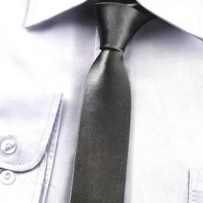 001 PROFESSIONAL TIE MEN NECKTiE (CHARCOAL BLACK)
