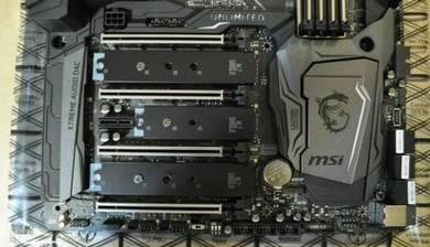 MSI Z370 Godlike Gaming LGA 1151 Intel