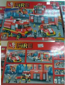 Kids Education Toys Fire Station (Balai Bomba ) r