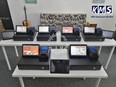 KMS Tablet Mesin Cashier POS System Cash Register