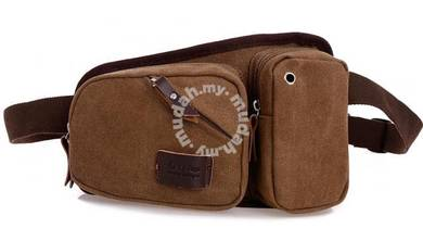 HUNTSMAN Multifunction Pouch Bag Backpack (Coffee)