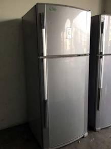 Fridge Sejuk Sharp Refrigerator Besar Peti Freezer