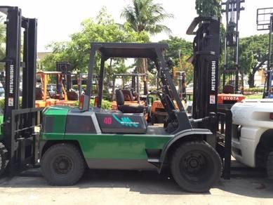 Japan Import Mitsubishi 4 Ton Diesel Forklift