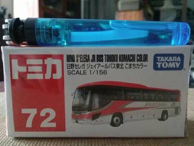 119 Tomica jr bus not hotwheels
