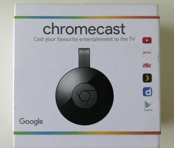Google Chromecast 2nd Gen. New Set