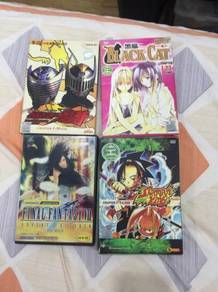 Japanese anime dvd