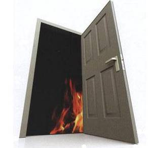 Fire Rated Door (1 Hour / 2 Hour) with Bomba Cert