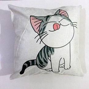 Kucing bantal sarung cat cushion cover chair sofa