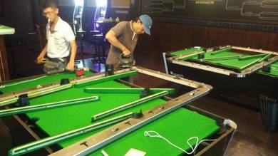 Pool & Snooker table servicing & sales
