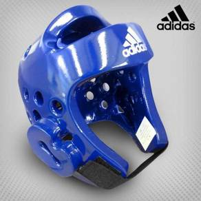 HEAD GUARD BLUE ADIDAS taekwondo mma muay thai NEW