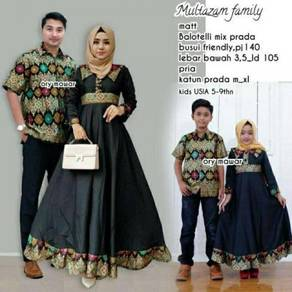 Muslimah Baju sedondon raya Multazam Family