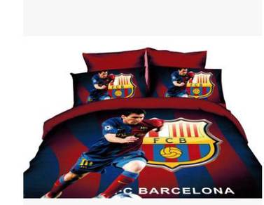 Messi bed mattress and pillow