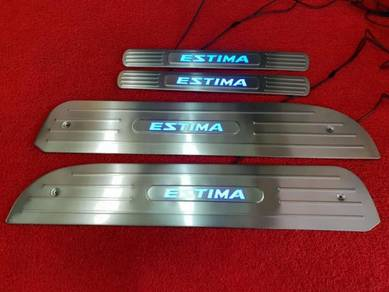 Toyota estima acr30 led side door sill plate step