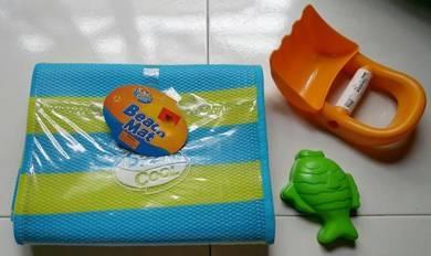 Ikea ToysRus children toy beach mat shovel mould