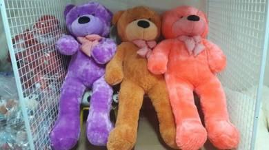 Teddy bear macam macam warna 1.6m