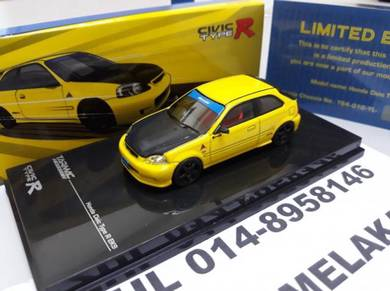 Tarmac 1/64 Honda Civic Ek9 Eg6 R34 Spoon LIMITED