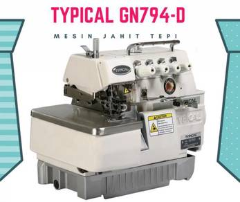 Mesin jahit 4 tepi direct drive typical gn794d 541