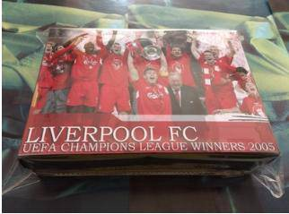 Football club - liverpool memorable card