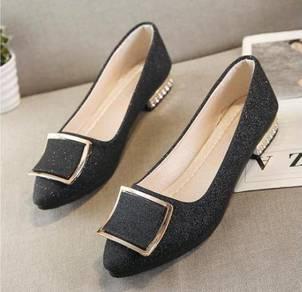 8069 Ballerina Bling Flat Shoes