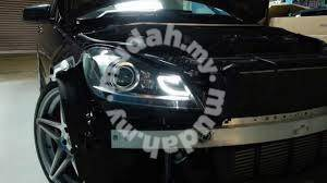 Benz w204 projector head lamp starline chrome led