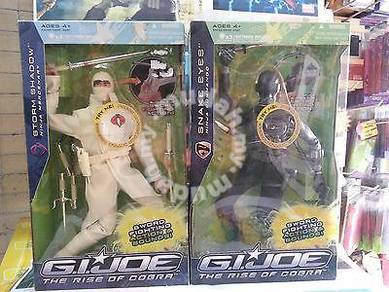 Snake Eyes And Storm Shadow set of 2 by HASBRO