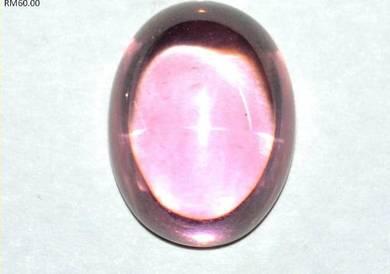 Batu serai mentah pink