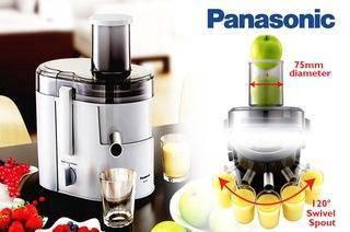 New Panasonic MJ-SJ01 Wide Tube Juicer