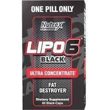 Nutrex Lipo 6 Black Ultra BAKAR LEMAK Fat Burner