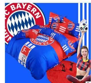 Bayern munich bed mattress and pillow