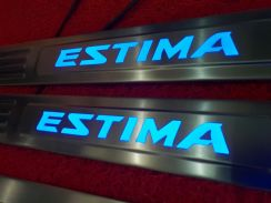 Toyota estima acr30 led side sill plate door step