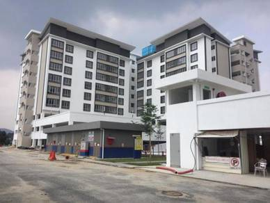 Completed Gated Semenyih 1033/1140sqft Apartment, Price 284K,Cash back