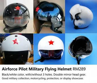 Airforce Flight Helmet Pilot Keledar