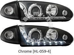 Proton Wira projector head lamp starline black led