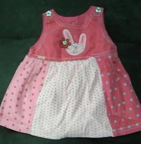 Baju Dress Baby Perempuan